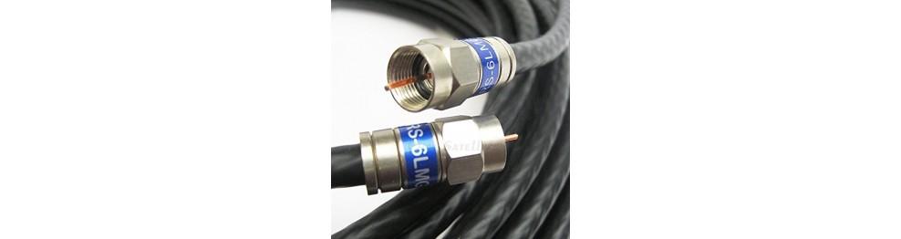 Antennekabler, stik og adaptorer