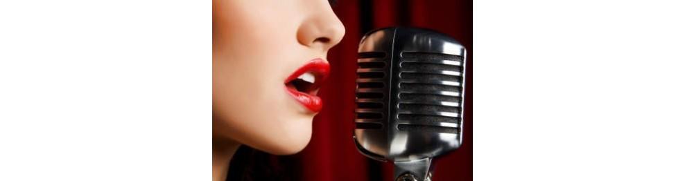 Mikrofon til sang og tale leje