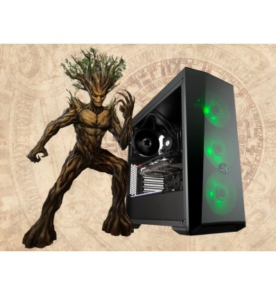 Yggdrasil Gamer Level Up Midtower I5-7600K 8GB