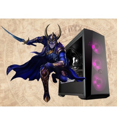Loke Gamer Level Up Midtower I7-7700 16GB