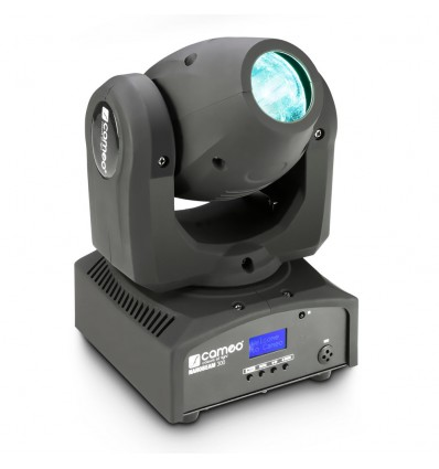 1 x 30 W Cree LED RGBW Mini Moving Head with Unlimited Pan incl. IR-Remote - NanoBeam 300 Cameo