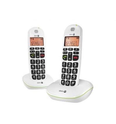 DORO PHONEEASY 100W DUO - Hvid