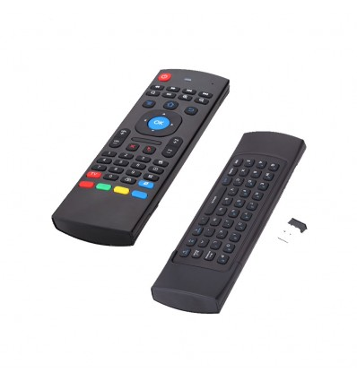 MX3 Air mouse wireless keyboard for tv box