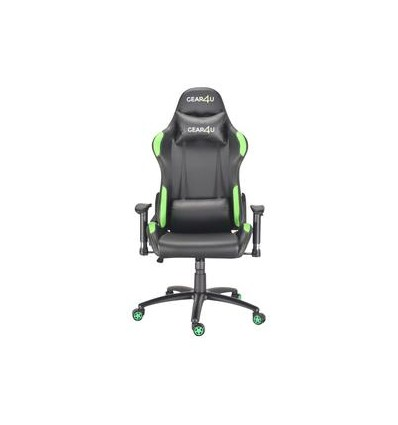 GEAR4U ELITE PRO BLACK/GREEN - GAMING STOL