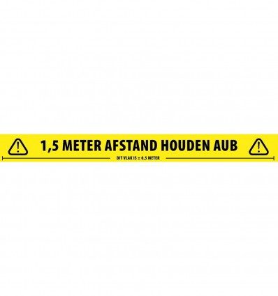 Social Distancing Tape Dutch Adam Hall Accessories 58067 DUT