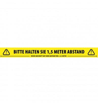 Social Distancing Tape German Adam Hall Accessories 58067 GER