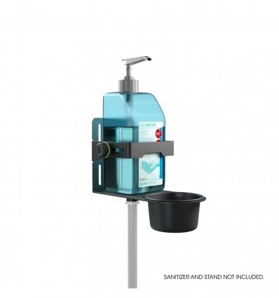 Universal Disinfectant Holder Black Gravity MA DIS 01 B