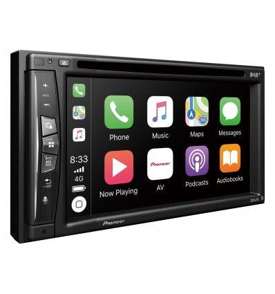 Pioneer AVIC-Z730DAB Navigation / Trådløs CarPlay og Bluetooth