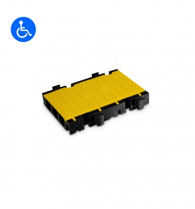 Defender 3 2D modular system for wheelchair ramp and barrier-free transition - Middle section half version Defender 3 2D HV