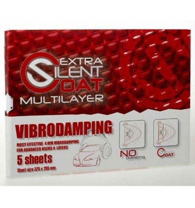 Silent Coat - multilayer Extra 18 plader, installer pack