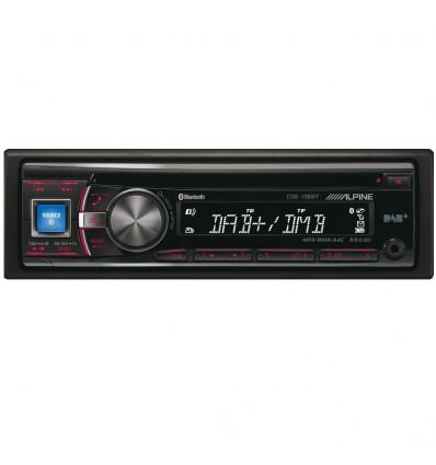 Alpine CDE-136BT DAB+ Bilradio