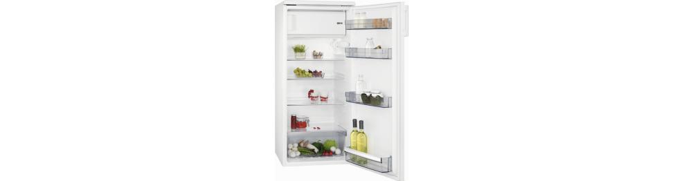 Fritstående køleskabe med fryseboks