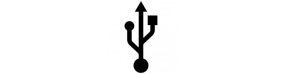 Pladespiller m. USB